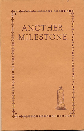 Another Milestone 1929 British Foreign Bible Society