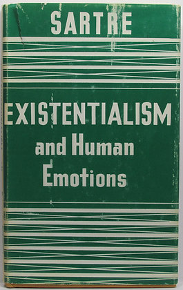EXISTENTIALISM & Human Emotions by Jean-Paul Sartre 1957