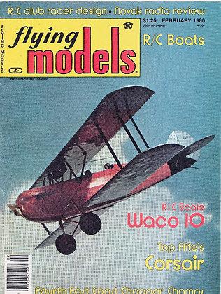 Flying Models February 1980