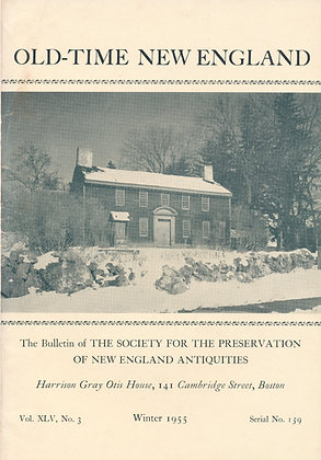 Old-Time New England Winter 1955