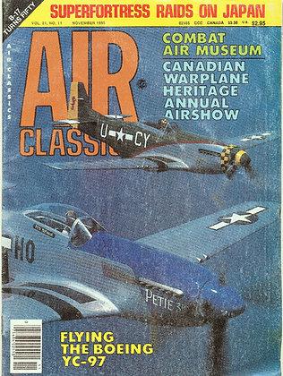 Air Classics (Nov. 1985) Vol 21, No. 11