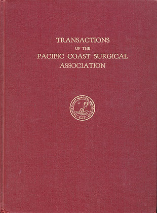 Pacific Coast Surgical 1961