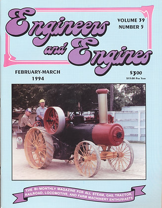 Engineers & Engines, Feb.-March 1994