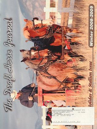 Draft Horse Journal Winter 2008-2009