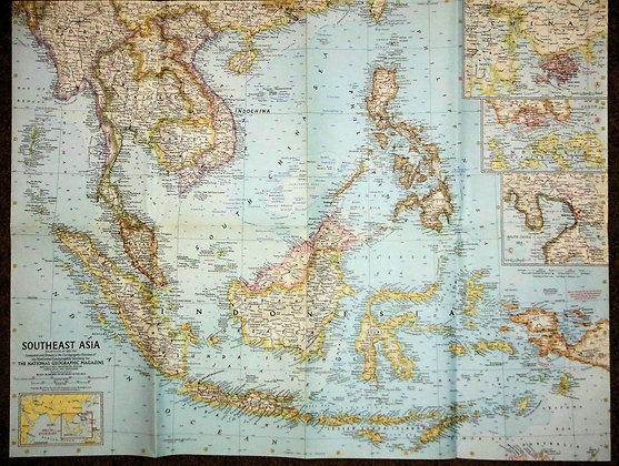 Nat. Geographic Southeast Asia 1961