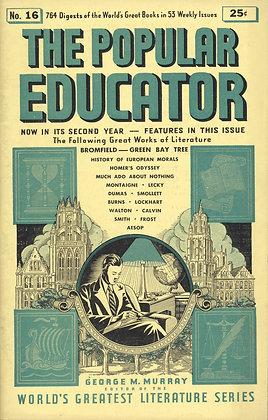 POPULAR EDUCATOR (#16, Second Year, 1939) GREEN BAY TREE - BROMFIELD