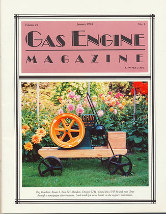 Gas Engine Mag.  January 1994