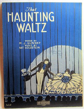 THAT HAUNTING WALTZ 1921