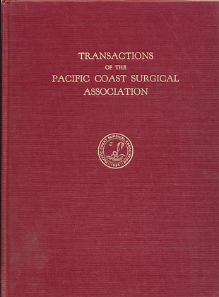 Pacific Coast Surgical 1955