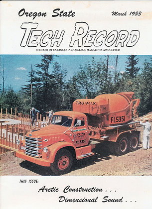 Oregon State Tech Record (Engineering) March 1953