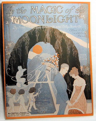 In the MAGIC of the MOONLIGHT 1919