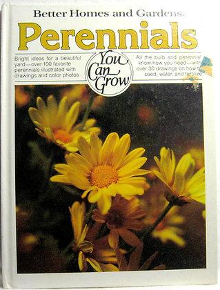Better Homes and Gardens PERENNIALS 1978