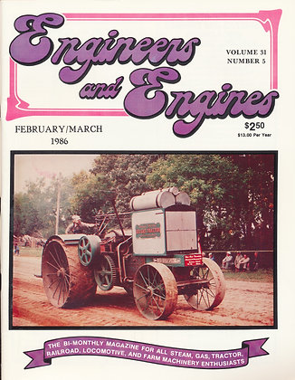 Engineers & Engines, Feb.-March 1986