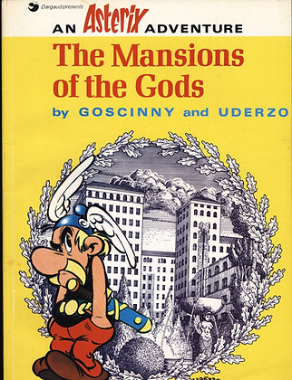 Asterix THE MANSIONS OF THE GODS by Goscinny & Uderzo 1975