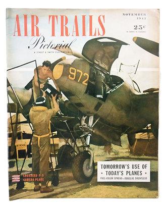 Air Trails (Nov. 1943) Vol. 21, No. 2