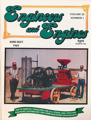 Engineers & Engines, June-July 1987