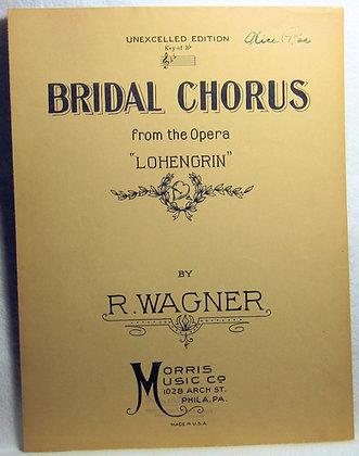 "BRIDAL CHORUS Opera ""LOHENGRIN"" 1926"