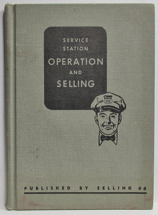 Phillips 66 Service Station Handbook for Management & Training Manual 1955
