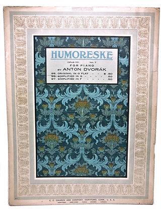 Humoreske by Anton Dvorak 1912