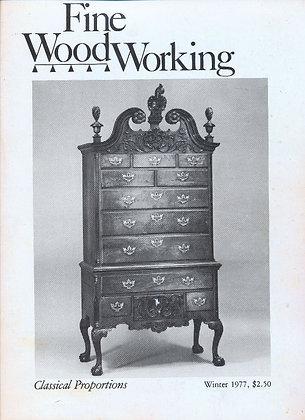 Fine Woodworking (Winter 1977, #9)