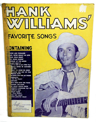 Hank Williams Favorite Songs 1953