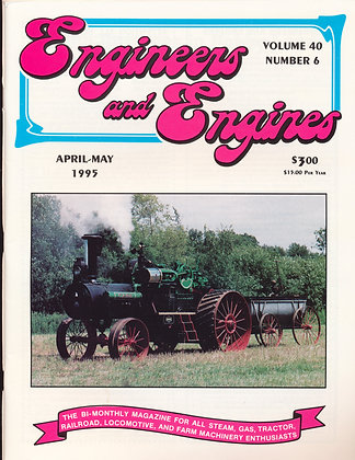 Engineers & Engines, April-May 1995