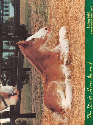 Draft Horse Journal Spring 1990