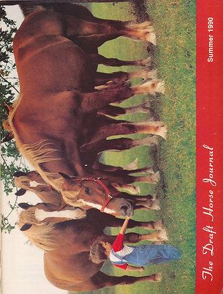 Draft Horse Journal Summer 1990