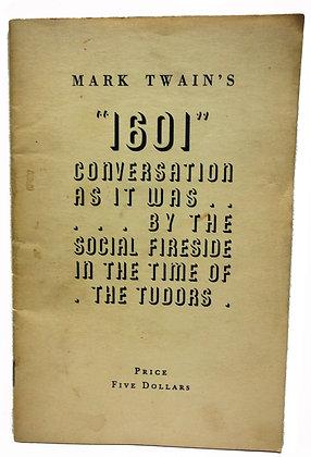 "Mark Twain's ""1601"" Conversation 1943"