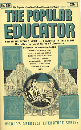 POPULAR EDUCATOR (#39, Second Year, 1940) SENTIMENTAL TOMMY - BARRIE