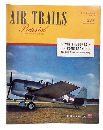 Air Trails (Dec. 1943)  Grumman Hellcat