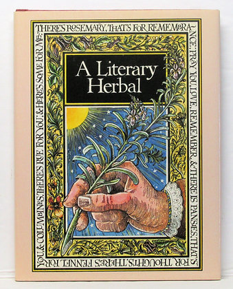 A Literary Herbal (GIFT BOOK) Rodway 1980 Illustrated