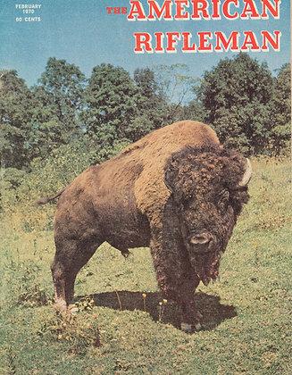 American Rifleman February 1970