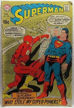 SUPERMAN, No. 220, Oct., 1969