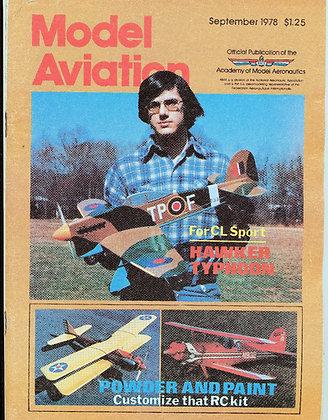 Model Aviation (Sept. 1978) Vol. 4, No. 9