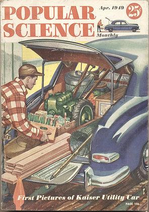 POPULAR SCIENCE April 1949