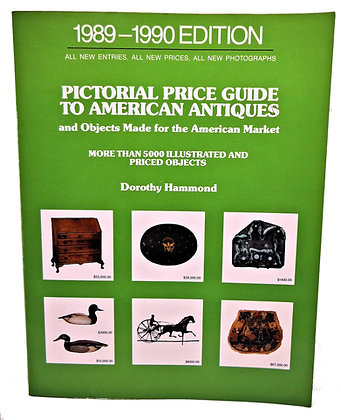 Pictorial Price Guide to American Antiques 1989-1990