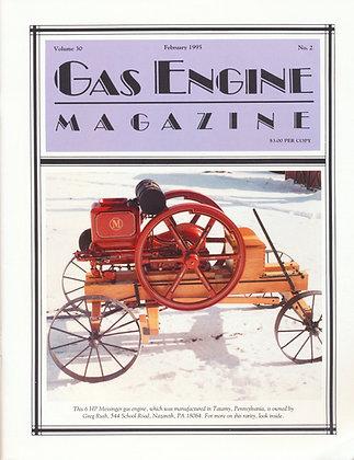 Gas Engine Mag.  February 1995