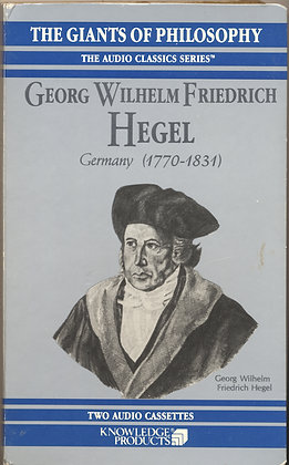 Georg Wilhelm Friedrich Hegel (Germany 1770-1831) CHARLTON HESTON 1990