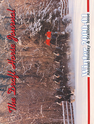Draft Horse Journal Winter 2000-01