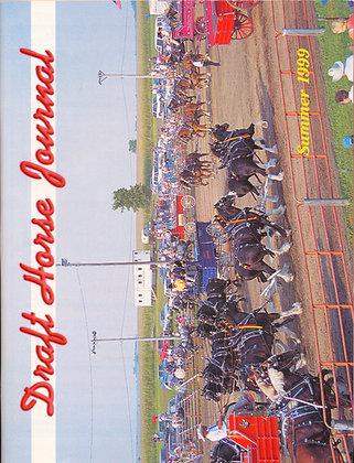 Draft Horse Journal Summer 1999