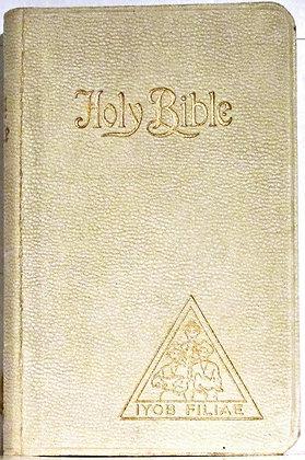 Holy Bible (Job's Daughters) Holman (circa 1940)