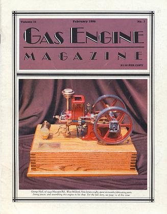 Gas Engine Mag.  February 1986