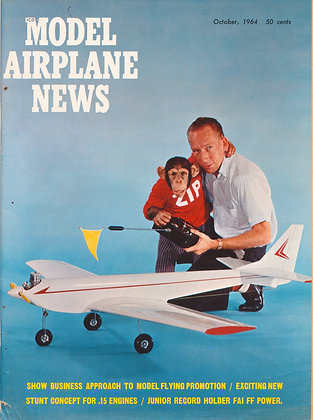 Model Airplane News October 1964