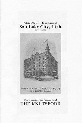 Salt Lake City Utah Knutsford Hotel ca. 1900 New