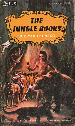The Jungle Books by Rudyard Kipling 1966
