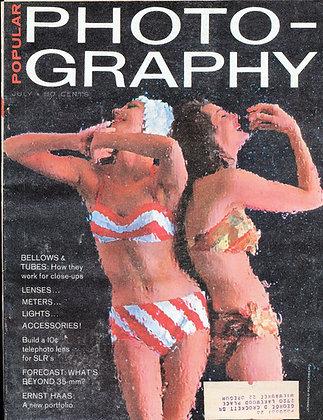 Popular Photography July 1962