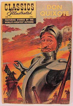DON QUIXOTE, No. 11, Classics Illustrated 1968