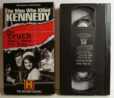 The Men Who Killed Kennedy HISTORY CHANNEL 1995 VHS