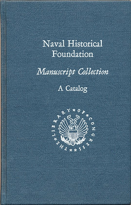 Naval Historical manuscript collection